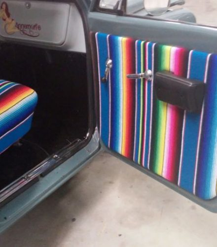Interieur Mexican Style Chevrolet pickup